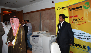 """PDF/A for Long Term Electronic Archiving"" was presented by Anees Abdul Rahiman and Beaman Esstasi and ""Simplified Document Capture Solutions"" were presented by Mohamed ElBahrawi. Both presentations were well received and drove delegates to the Xerox Stand for demonstrations and discussions on the subject."
