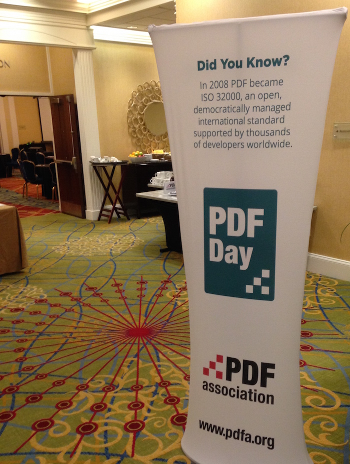 Welcome to PDF Day Washington DC