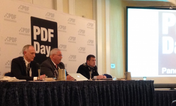 PDF Day panel in Washington DC