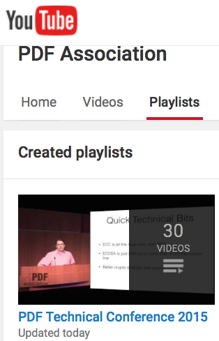 Screen-shot from YouTube