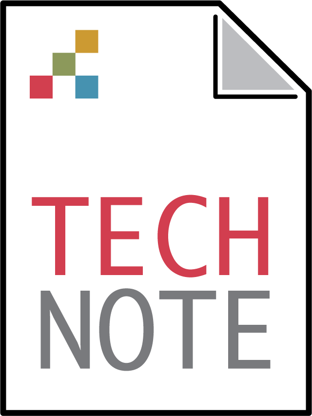 Technical note icon.