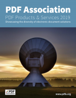 Cover of PDF Products and Services 2019