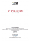The cover of PDF Declarations