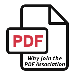 Why join the PDF Association?